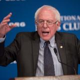 Picture: AFPSen. Bernie Sanders on