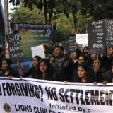 Thousands urge help for Indian sisters 'ordered raped'