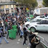 French government breaks blockades as petrol runs short