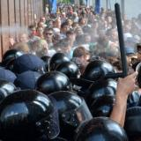 About 100 laws enforcers wounded in riots outside Rada building: Kiev police chief