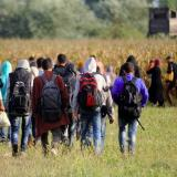 Migrants stranded as Hungary bars them from rail station: BBC