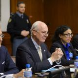 UN envoy says no new Syria talks in next few weeks