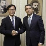 President confirmed Bulgaria's wish to attract strategic investors from South Korea