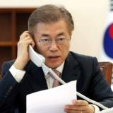 S. Korea halts border broadcasts ahead of Kim summit
