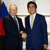 Picture: AFPThe Japan Times: Abe says Putin comment reflects Russian leader's 'enthusiasm' to sign peace treaty