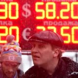 Ruble drowned, Russians in panic