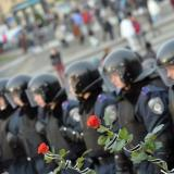 Ukraine police deny responsibility for gunshot deaths