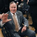 Ex-president Bush spends another night in Texas hospital: spokesman