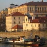 Fire hits roof of Prague's National Museum