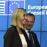 Picture: AFPPoland's Tusk, Italy's Mogherini get EU top jobs