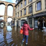 Three dead, two missing in French floods