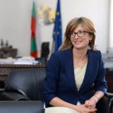 "Picture: МВнРMinister Ekaterina Zaharieva: Referendum should be about ""for"" or ""against"" domestic violence, as this is the point of the Istanbul Convention"