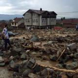 Radio Free Europe: Streets in Macedonia's Mala Recica, Tetovo turn into rivers