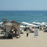 Officer's Beach in Bulgaria's Varna full of people despite ban on bathing