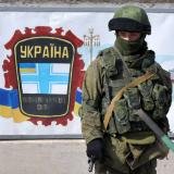Russian convoy enters Crimea military base near Simferopol
