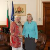 Bulgaria parliament chair met with Bundestag Vice President (ROUNDUP)
