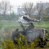 Airport in east Ukraine's Donetsk shut after rebel raid