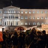 Greek protesters clash with police in first backlash against Syriza