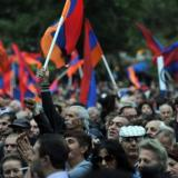 Reuters: Unarmed soldiers join anti-government protests in Armenia