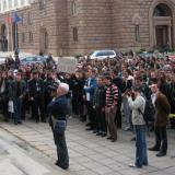 Bulgarian vets stage protests in Sofia (ROUNDUP)
