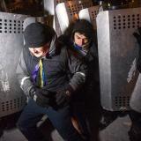 Ukrainian Ministry of Interior rejects possible police bullet to have caused the death of a protester