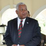 Bainimarama sworn in as Fiji's PM