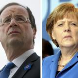 Picture: AFPMerkel, Hollande 'extremely worried' by ongoing Ukraine violence: France