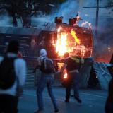 Venezuela protests: Clashes at Easter anti-Maduro demonstration