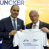 Jean-Claude Juncker wishes Tsvetan Tsvetanov landslide victory of CEDB at the European elections