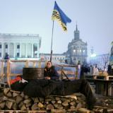 Ukrainian activists report a third victim during the protests in Kiev