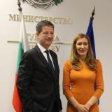 Picture: Министерство на туризмаMinister Nikolina Angelkova: Bulgaria and Greece partner in joint projects to attract tourists from distant markets to the Balkans