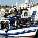 Picture: AFP AFP: Rescue ship Aquarius arrives in Spanish port