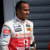 I never sprayed Putin, says Hamilton