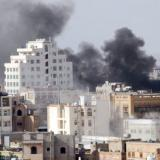 Yemen crisis: Deadly air strike on Sanaa arms depot
