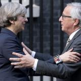The Independent: Brexit: Theresa May tells EU she wants 'deep and special relationship' after meeting with Juncker and Barnier
