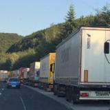 Source: Focus Information AgencyBorder Police: Still heavy traffic of trucks on Kapitan Andreevo