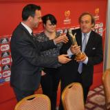 Michel Platini: I am very pleased with the organisation of the tournament, congratulations to BFU and Burgas
