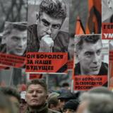 At least 10,000 march in memory of slain Russian opposition figure Nemtsov: AFP