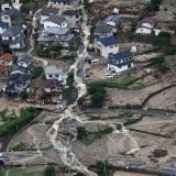 Picture: AFPJapan landslide death toll rises to 42