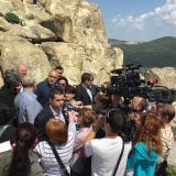 Boyko Borisov is the first Bulgarian acting prime minister who visited Perperikon