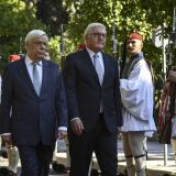 Picture: AFPKathimerini: Pavlopoulos, Steinmeier to visit Kalamata on Friday