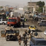 Explosion targets NATO forces in Kabul: officials
