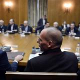Greece's Varoufakis: 'No debt talks with EU-IMF troika'