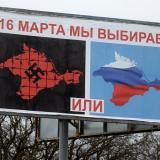 Japan urges Russia not to annex Crimea