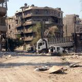 Syria barrel bomb death toll rises to 71 civilians: monitor