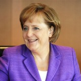Germany's Merkel arrives in Ukraine