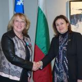 Bulgaria Deputy PM Bachvarova meets with Canada Minister of International Relations
