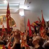 BBC: Macedonia parliament stormed by protesters in Skopje