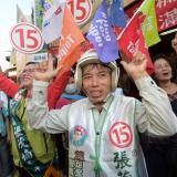 Taiwan votes in key elections ahead of presidential polls