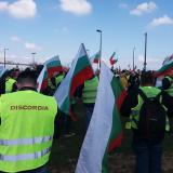 Hundreds of hauliers protest in Strasbourg against Mobility package